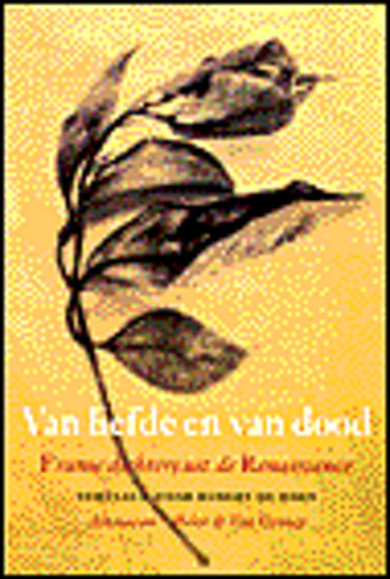 Bolcom Van Liefde En Van Dood Dichters Van De Franse
