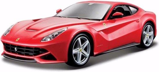 Speelgoed modelauto Ferrari F12 Berlinetta rood 1:24