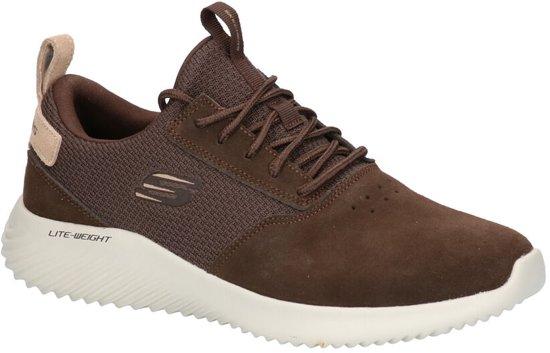 Skechers Bounder Bruine Sneakers  Heren 45,5