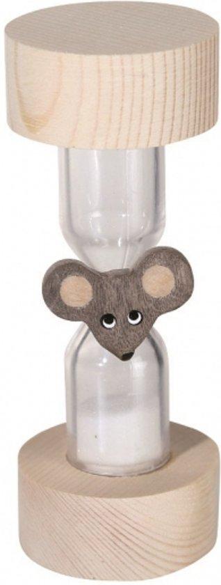 Afbeelding van het spel Houten dieren zandloper muis