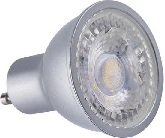 kanlux LED Spot pro- Led spot - GU10- 7W - 2700K- 120°- Warm wit