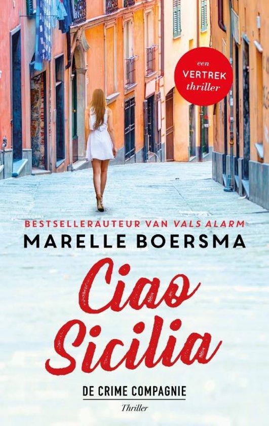 Boek cover Ciao Sicilia van Marelle Boersma