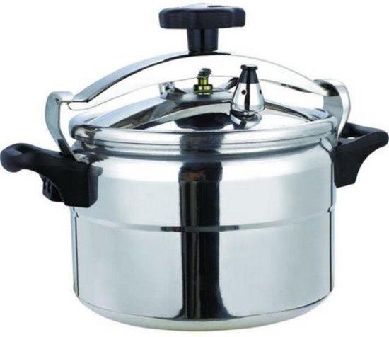 R Swiss 8 liter Snelkookpan Pressure Cooker Alluminium