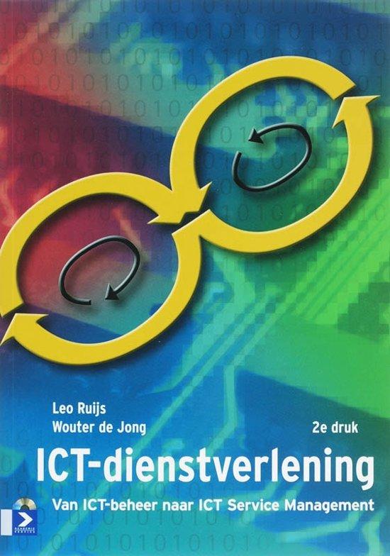 Boek cover ICT-dienstverlening van Leo Ruijs (Paperback)