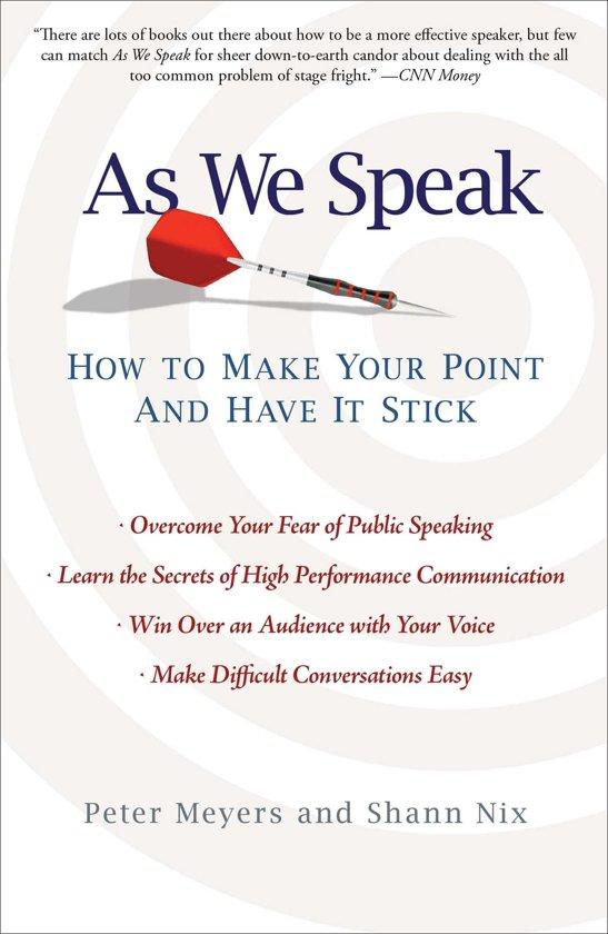 Bol as we speak ebook peter meyers 9781439171394 boeken lees de eerste paginas fandeluxe Images