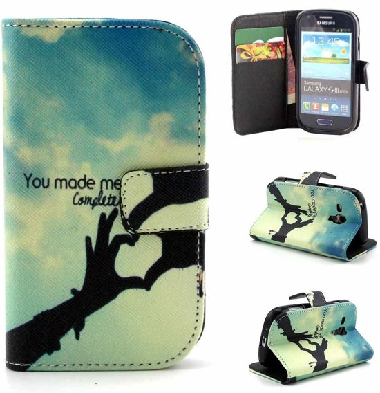 You made me complete wallet case hoesje Samsung Galaxy S3 mini
