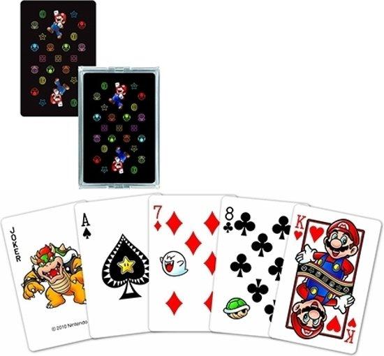 Afbeelding van het spel Playing Cards - Super Mario Neon Version (NAP03)