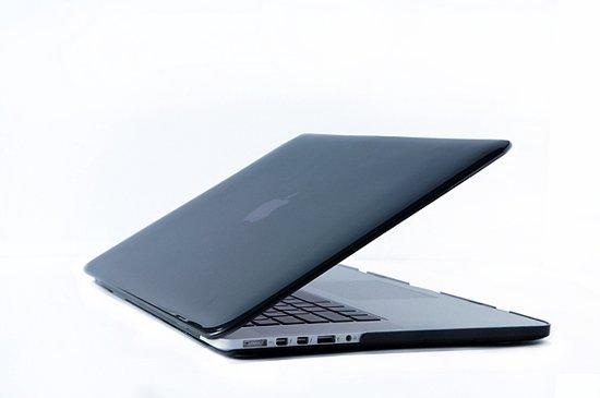 separation shoes 0dd07 75280 Macbook Case voor Macbook Pro Retina 15 inch 2014 / 2015 - Laptoptas -  Matte Hard Case - Zwart