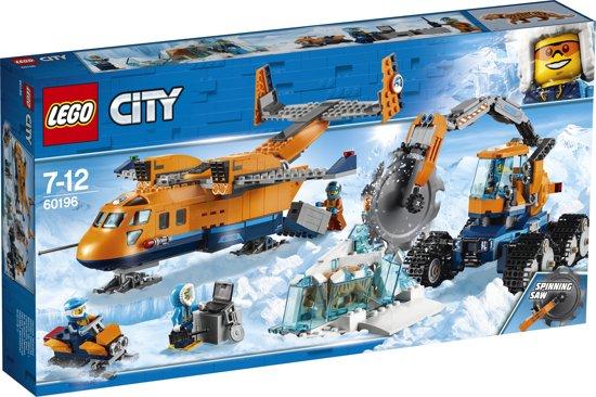 LEGO City Bevoorradingsvliegtuig voor de Noordpool - 60196