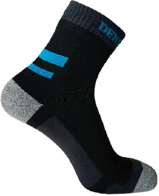 Dexshell Running Socks Zwart - Waterdichte hardloopsokken - Thermosokken - XL