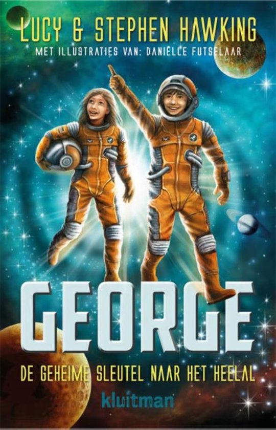 Boek cover George - De geheime sleutel naar het heelal van Stephen Hawking (Hardcover)