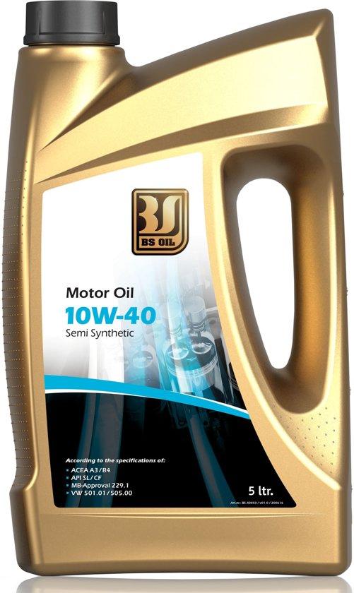 BSOIL motor oil 10W-40 5L