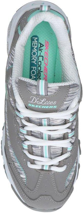 Grijze Sneakers Skechers Skechers Sneakers D'lites D'lites Grijze SMqGzUVp