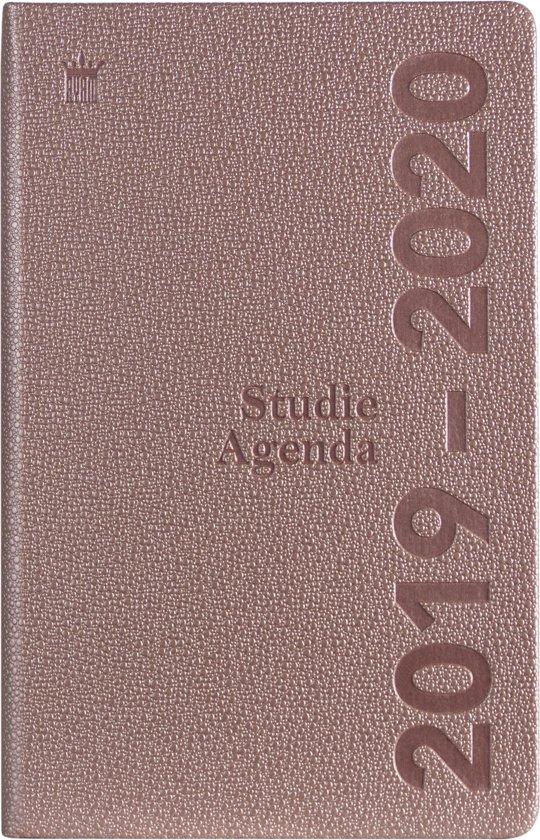 Schoolagenda 2019-2020 - Pearl bordeaux