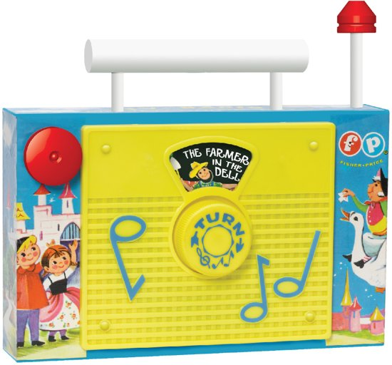 Fisher-Price Classic TV Radio