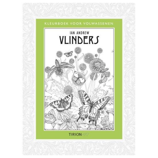 Grote Kleurplaten Vlinders.Bol Com Kleurboek Voor Volwassenen Vlinders Ian Andrew