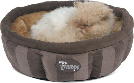 Scruffs AristoCat Ring Bed Kattenmand - 45 x 45 x 16 cm - Crème