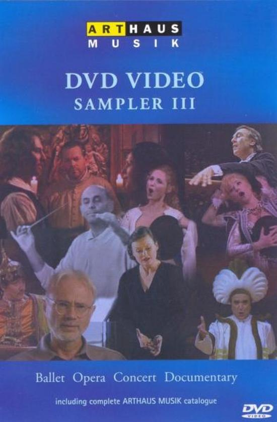 Arthaus Musik - DVD Video Sampler III