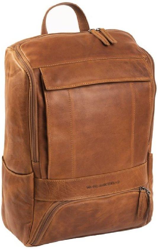 46da27efcd7 bol.com | Chesterfield - Leren Laptop Rugtas Rich - 15,4 inch - Cognac