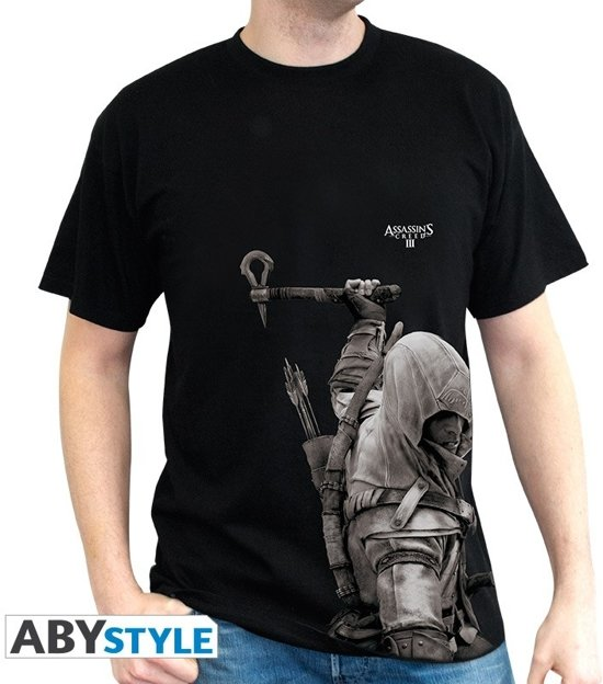 ASSASSINS CREED - Tshirt ASC III Connor man SS black - basic