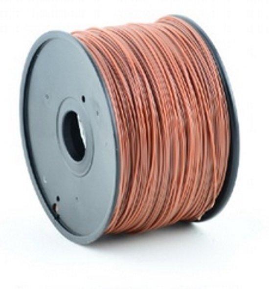 Gembird3 3DP-PLA3-01-BR - Filament PLA, 3 mm, bruin