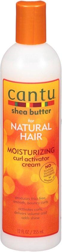 Cantu Shea Butter Natural Moisturizing Curl Activator Cream-Haar Creme-Krullend Haar-350ml