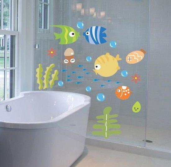 bol.com | Vissen muursticker - muurdecoratie - kinderkamer ...