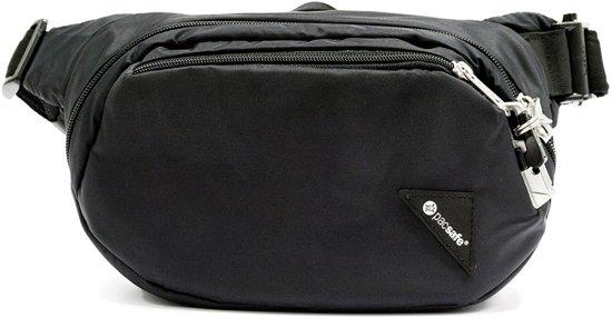 Pacsafe Vibe 100-Anti diefstal Heuptas-4 L-Zwart (Black)
