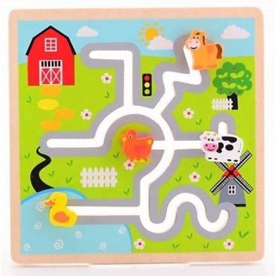 Jouéco Labyrinthpuzzle Boerderij