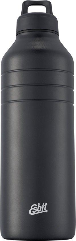 Esbit Majoris drinkfles - rvs - 1380 ml - zwart