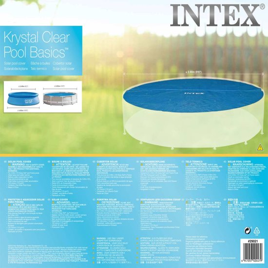 Intex Solarzwembadhoes rond 305 cm 29021