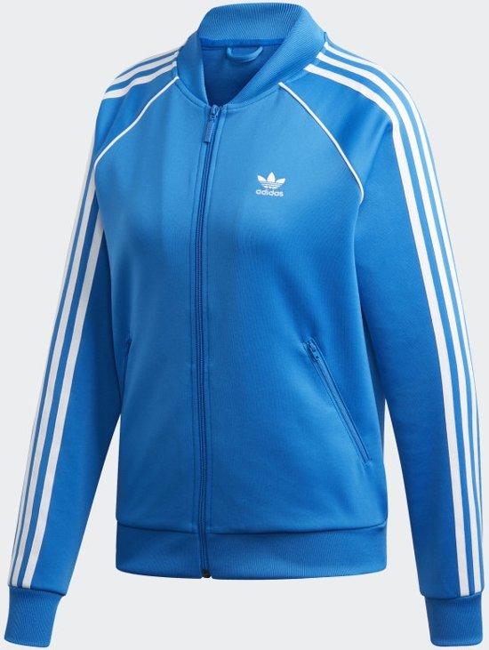 bol.com | adidas SST TT Dames Sportjas - Bluebird - Maat 40