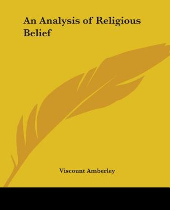 an analysis of religion and evolution