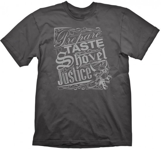 Shovel Knight T-Shirt Shovel Justice Charcoal (Maat L)