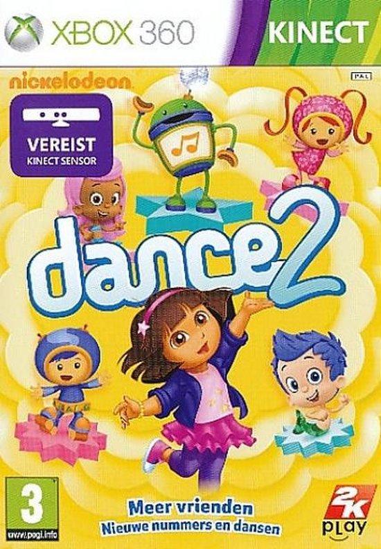 Nickelodeon Dance 2 - XBOX360 (met Kinect)