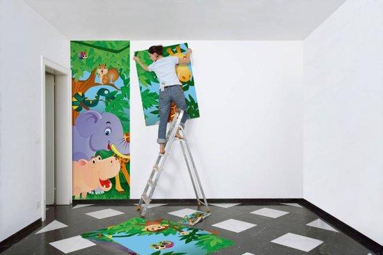 Fotobehang - In the Jungle - 366 x 254 cm - Multi
