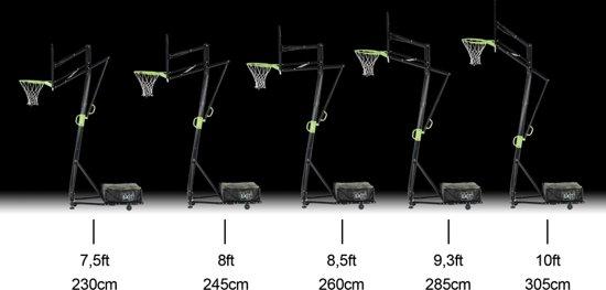 EXIT Galaxy Portable Basketbalring met dunkring