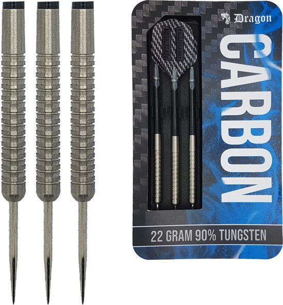 Dragon darts – Carbon - 90% tungsten – 26 gram – dartpijlen