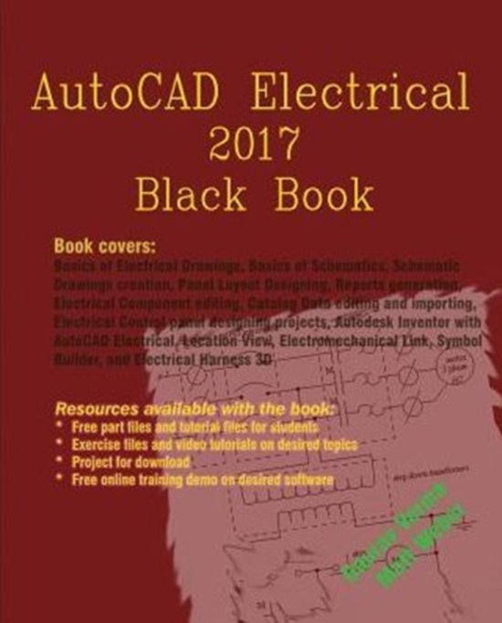 Bol Autocad Electrical 2017 Black Book Gaurav Verma