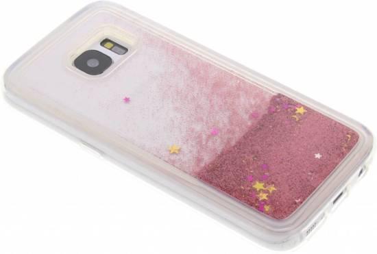Cas De Paillettes D'or Liquide Pour Samsung Galaxy S6 mPdhgzb