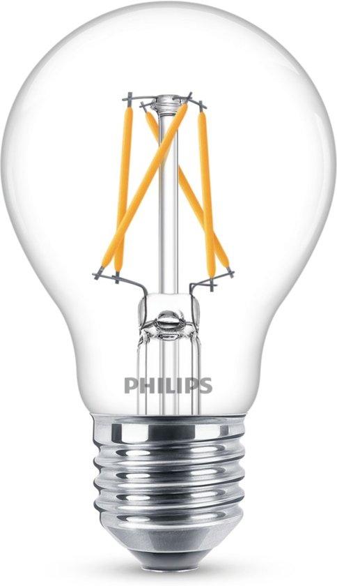 Philips HELDER  Sceneswitch Led standaard E27 8w/60w 2700k SSW 3 standen 60w/40w/15w