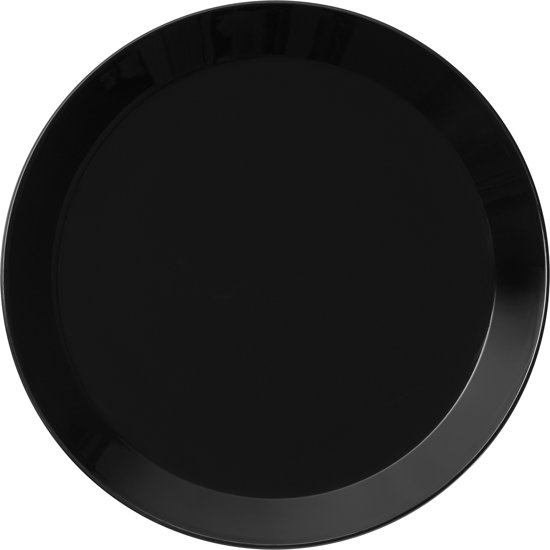 Iittala Teema zwart plat bord 26cm