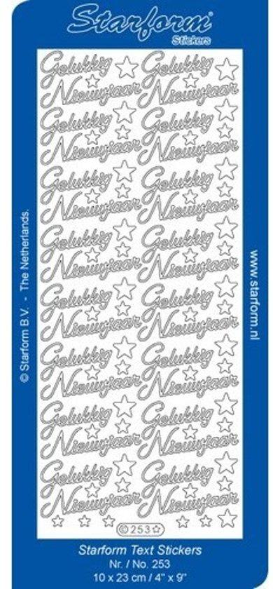 Bol Com Stickers 10 Vellen Nederlandse Taal Kerst Gelukkig