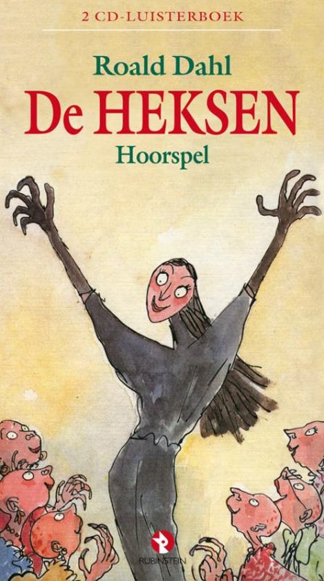 bol.com | De Heksen - Roald Dahl - 2 CD Luisterboek, Roald ...