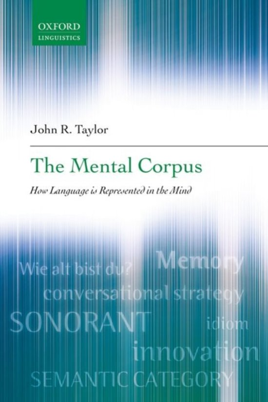 The Mental Corpus