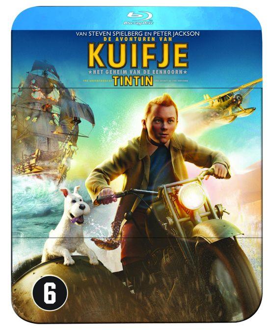 De Avonturen Van Kuifje - Het Geheim Van De Eenhoorn (Blu-ray)