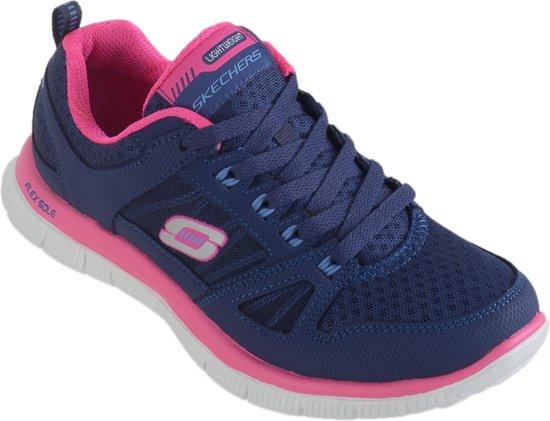 Skechers Blauw Roze