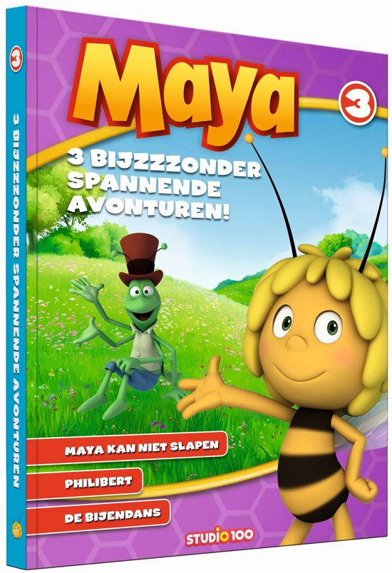 Maya 3 - Maya kan niet slapen; Philibert: de Bijendans
