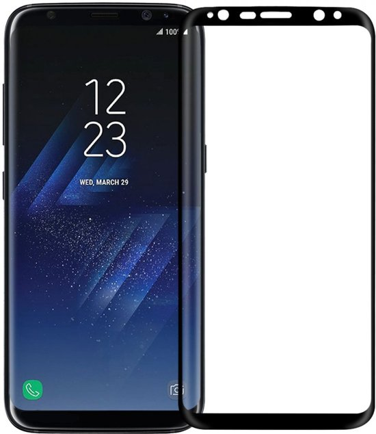 Nillkin 3D Tempered Glass Screen Protector Samsung Galaxy S8 in Grubbenvorst