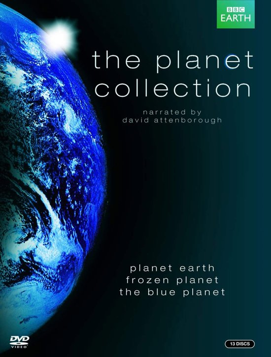 DVD cover van BBC Earth - The Planet Collection (Blu-ray)